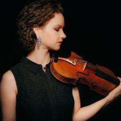 Violinist Hilary Hahn.